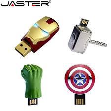 JASTER Iron man captain american Hulk <b>hand USB Flash Drive pen</b> ...