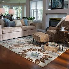 rugs living room nice: area rug in a living space