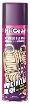 Hi-Gear <b>Очиститель</b>-<b>кондиционер для</b> кожи салона автомобиля ...