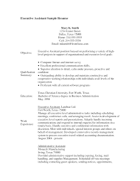 administration resume format  seangarrette co examples of executive assistant resumes resume format pdf   administration resume format