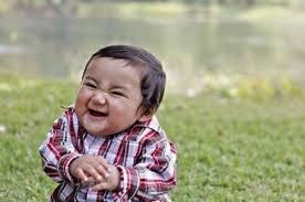 Evil Toddler Blank Meme Template   Funnies   Pinterest   Toddlers ... via Relatably.com