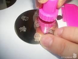 Обзор на стемпинг для ногтей + пример использования ...