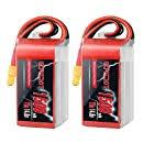 <b>OVONIC</b> FPV LiPo Battery Pack <b>14.8V 1550mAh</b> 100C <b>4S</b> with XT60 ...