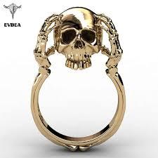 EVBEA Tiny Mini <b>Stainless Steel</b> Rose Skull Women <b>Punk</b> Rock ...