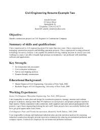 cover letter civil engineering resume objective for civil cover letter civil engineer resume sample civil engineering template structural samplecivil engineering resume extra medium size