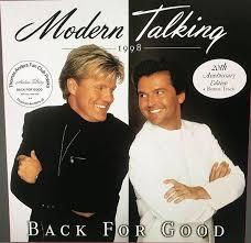 <b>Modern Talking</b> - <b>Back</b> For Good (2018, 20th Anniversary Edition ...