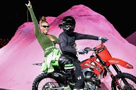 <b>Rihanna</b> turns <b>Fenty Puma</b> runway into motorbike arena at New ...