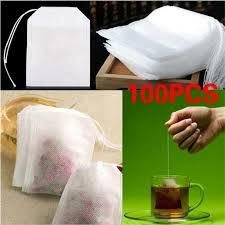 <b>100Pcs</b>/<b>Lot пустой Ароматические чайные</b> пакетики шнурок ...
