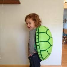 Homemade <b>Turtle Costume</b>: Best turtle shell tutorial! I used fabric ...