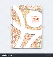 abstract vector line design cover poster stock vector  abstract vector line design for cover poster banner flayer business card