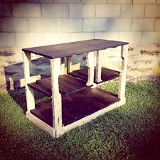 kitchen islands rustic table island pallet