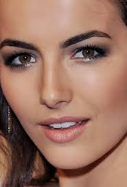 eye makeup for dark brown eyes and olive skin