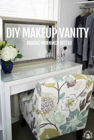 diy good morning makeup vanity via ikeahackers awesome diy makeup
