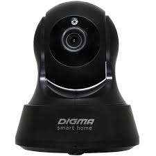 Купить <b>IP</b>-<b>камера Digma DiVision</b> 200 Black в каталоге интернет ...