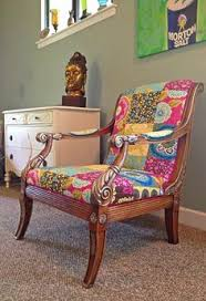 bohemian chic furniture one of a kind chair bohemian style colorful furniture bohemian furniture
