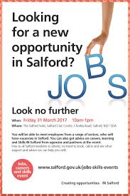 salford city council linkedin careers and job advice available for salford residents on friday 31 10am to 1pm at salford civic centre swinton m27 5da lnkd in gntzmmr