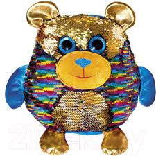 fancy мягкая игрушка мишка барри цвет светло коричневый 22 см