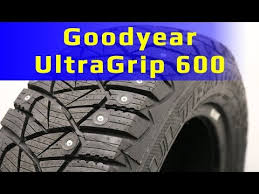 <b>Goodyear UltraGrip 600</b> /// Обзор - YouTube