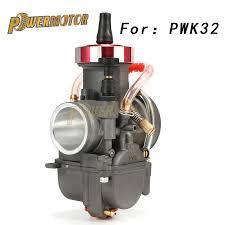 <b>Power Motor</b> Universal <b>Motorcycle Carburetor</b> For PWK28 30 34 ...