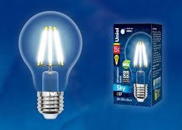 <b>Лампочка Uniel LED-A70-15W/4000K/E27/CL</b>, Нейтральный свет ...
