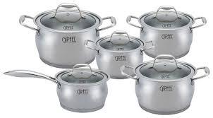Набор посуды <b>GIPFEL</b> CANTATA 1538 10 пр. — купить по ...