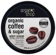 Купить Organic Shop <b>Скраб для тела Бразильский</b> кофе 250 мл ...