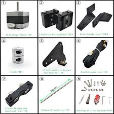 SIBOOR <b>Ender 3 Accessories Dual</b> Z Axis Kit Lead Screw Dual Z ...