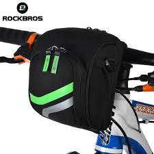 RockBros <b>Bicycle Bike Handlebar Bag</b> With Rain Cover <b>Cycling</b> Top ...