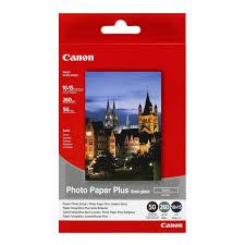 "<b>Canon</b> SG-201c 260/50л <b>Photo Paper</b> Semi-Gloss 4""x6"" (1686B015)"