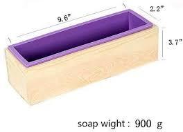 Nicole <b>Silicone Soap Mold</b> with Wood Box DIY Handmade ...