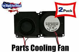 2 <b>4010</b> Cooling Fan For <b>3D Printer Parts</b> DC 12V, 2pin Blower Fan ...
