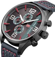 MINI FOCUS <b>Multifunctional</b> Business Men Watch <b>Calendar</b> ...