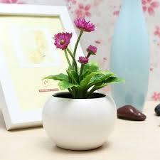 decorative flowers potted planters artificial plants office desk decor artificial plants for office decor
