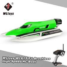 Original <b>WLtoys</b> WL915 <b>2.4Ghz</b> 2CH Brushless High Speed RC <b>F1</b> ...