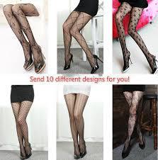 Free Ship <b>10 Pairs</b> (<b>10</b> different designs) Sexy Womens Sheer Lace ...