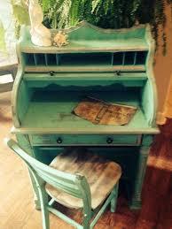 a mermaids tale vintage childs desk chalk paint painted furniture repurposing upcycling amazing vintage desks