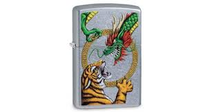 <b>Зажигалка ZIPPO Dragon Design</b> Street Chrome | Цена: 2310 руб.