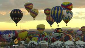 us newspaper gets creative essay contest to win ownership the world s largest balloon festival is nearing its end almost a million people the event in the us state of new every year