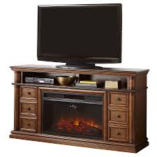shop fireplaces at com style selections 66 in w 5 120 btu sienna wood and metal infrared quartz electric