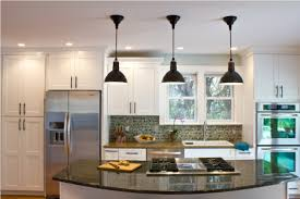 Kitchen Pendant Lights Over Island View In Gallery Red Glass Pendant Lights Add A Touch Of Color To