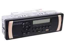 <b>Автомагнитола Digma DCR-110G</b> 1DIN 4x45Вт 479882 купить в ...