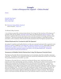best photos of medical claim appeal letter sample medical medical insurance appeal letter sample