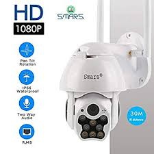 Buy Smars® <b>1080P PTZ IP Camera</b> WiFi Outdoor Speed Dome ...