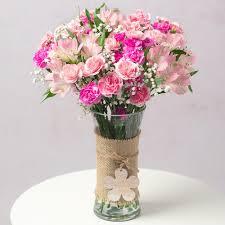 <b>Pink</b> Blush | <b>Flowers</b> By Post | Bunches