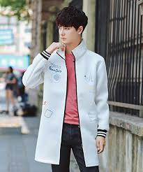 2019 2017 <b>Fashion Space Cotton</b> Windbreaker Male Young ...