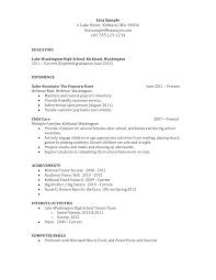 high school resume template berathen com high school resume template and get inspiration to create a good resume 18