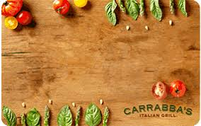Order Restaurant Gift Cards from Carrabba's Italian Grill