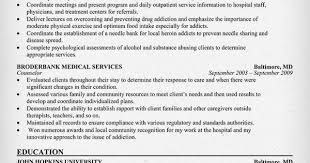 resume examples resume and nursing career on pinterest chemical dependency counselor resume