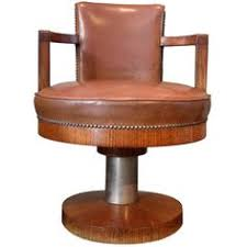 1930 art deco swivel desk chair art deco desk chair office side armchair
