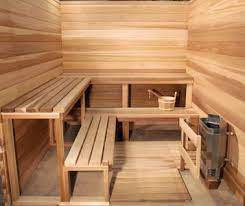 BEST SAUNA ROOMS - Include 4 Benches, Thick T&G Cedar